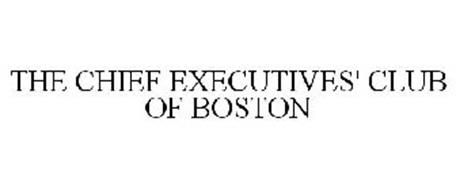 THE CHIEF EXECUTIVES' CLUB OF BOSTON