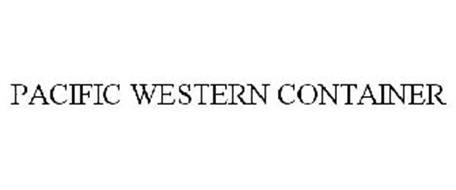 PACIFIC WESTERN CONTAINER