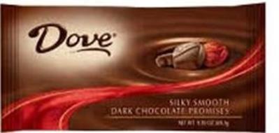 DOVE SILKY SMOOTH DARK CHOCOLATE PROMISES