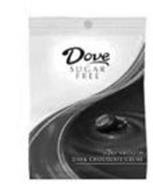 DOVE SUGAR FREE SILKY SMOOTH DARK CHOCOLATE CREME