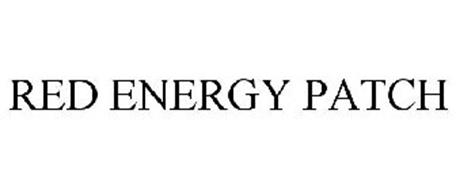 RED ENERGY PATCH