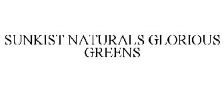 SUNKIST NATURALS GLORIOUS GREENS