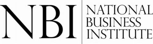 NBI NATIONAL BUSINESS INSTITUTE