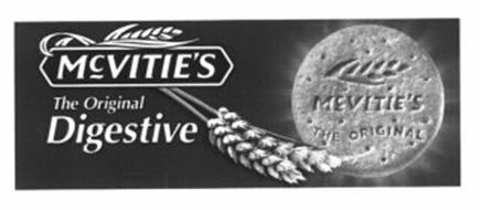 MCVITIE'S THE ORIGINAL DIGESTIVE MCVITIE'S THE ORIGINAL