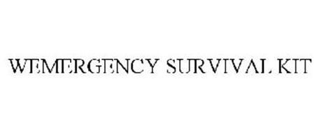 WEMERGENCY SURVIVAL KIT