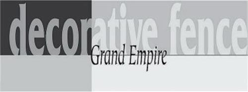 GRAND EMPIRE DECORATIVE FENCE