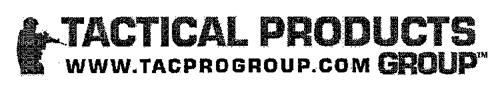 TACTICAL PRODUCTS GROUP WWW.TACPROGROUP.COM