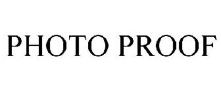 PHOTO PROOF