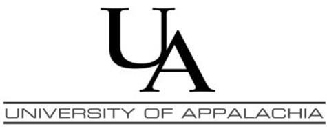 UA UNIVERSITY OF APPALACHIA