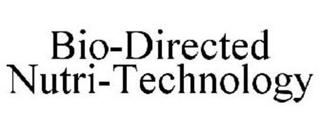 BIO-DIRECTED NUTRI-TECHNOLOGY