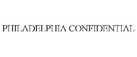 PHILADELPHIA CONFIDENTIAL