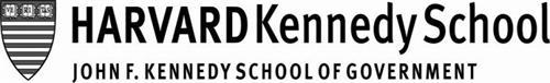 VE RI TAS HARVARD KENNEDY SCHOOL JOHN F. KENNEDY SCHOOL OF GOVERNMENT