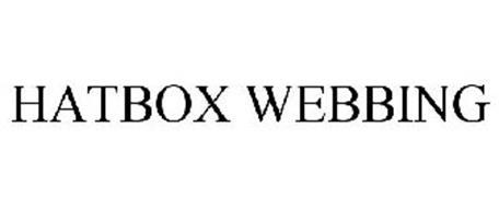 HATBOX WEBBING