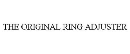 THE ORIGINAL RING ADJUSTER