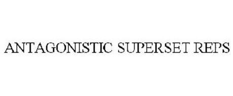 ANTAGONISTIC SUPERSET REPS
