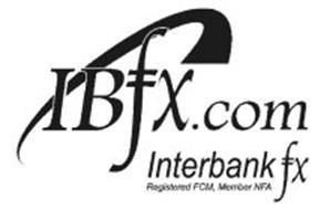 IBFX.COM INTERBANK FX REGISTERED FCM, MEMBER NFA