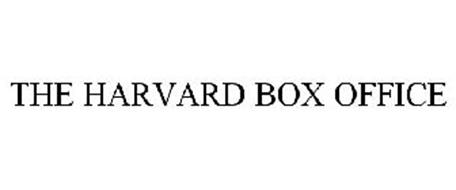 THE HARVARD BOX OFFICE
