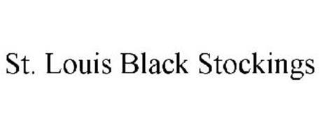 ST. LOUIS BLACK STOCKINGS