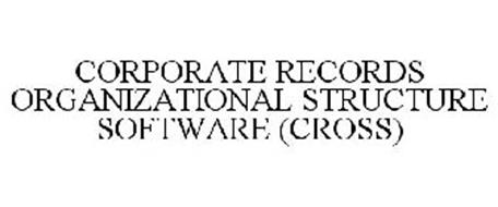 CORPORATE RECORDS ORGANIZATIONAL STRUCTURE SOFTWARE (CROSS)