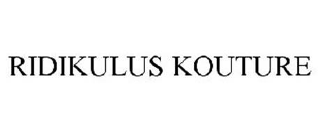 RIDIKULUS KOUTURE