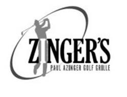 ZINGER'S PAUL AZINGER GOLF GRILLE