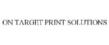 ON TARGET PRINT SOLUTIONS
