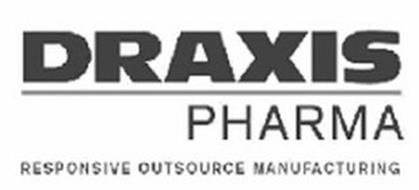 DRAXIS PHARMA RESPONSIVE OUTSOURCE MANUFACTURING