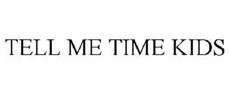 TELL ME TIME KIDS