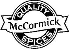 MCCORMICK QUALITY SPICES