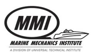 MMI MARINE MECHANICS INSTITUTE A DIVISION OF UNIVERSAL TECHNICAL INSTITUTE