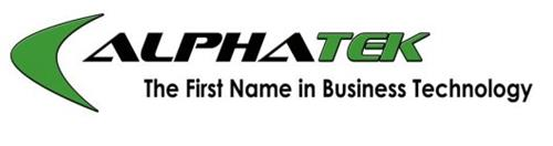 ALPHATEK THE FIRST NAME IN BUSINESS TECHNOLOGY