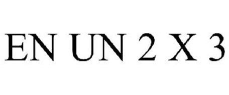 EN UN 2 X 3