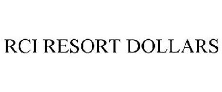 RCI RESORT DOLLARS