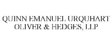 QUINN EMANUEL URQUHART OLIVER & HEDGES, LLP