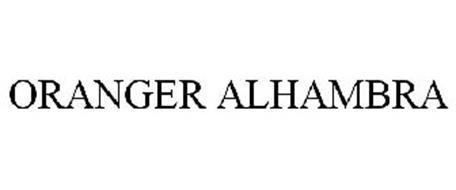 ORANGER ALHAMBRA