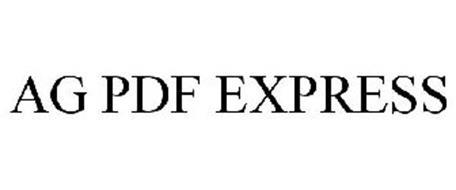 AG PDF EXPRESS