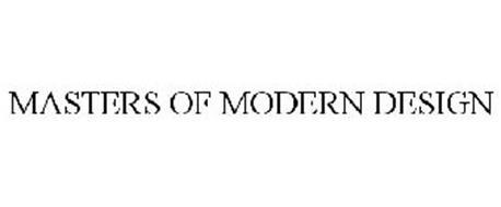 MASTERS OF MODERN DESIGN