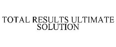 TOTAL RESULTS ULTIMATE SOLUTION
