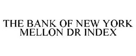 THE BANK OF NEW YORK MELLON DR INDEX