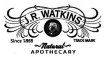 J.R. WATKINS SINCE 1868 TRADEMARK