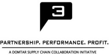 P3 PARTNERSHIP. PERFORMANCE. PROFIT. A DOMTAR SUPPLY CHAIN COLLABORATION INITIATIVE