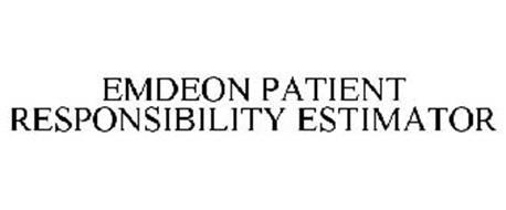 EMDEON PATIENT RESPONSIBILITY ESTIMATOR