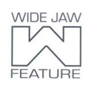 W WIDE JAW FEATURE