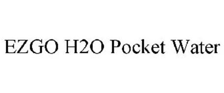 EZGO H2O POCKET WATER