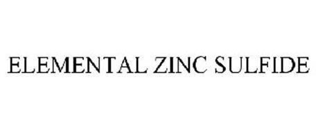 ELEMENTAL ZINC SULFIDE