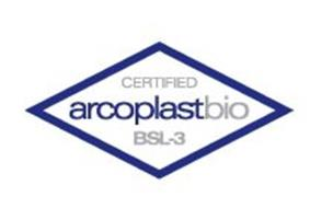ARCOPLASTBIO BSL-3 CERTIFIED