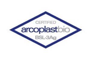 ARCOPLASTBIO BSL-3AG CERTIFIED