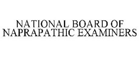 NATIONAL BOARD OF NAPRAPATHIC EXAMINERS