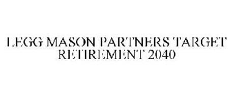 LEGG MASON PARTNERS TARGET RETIREMENT 2040