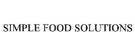 SIMPLE FOOD SOLUTIONS